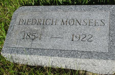 MONSEES, DIEDRICH - Ida County, Iowa | DIEDRICH MONSEES