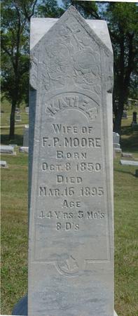MOORE, KATIE M. - Ida County, Iowa | KATIE M. MOORE