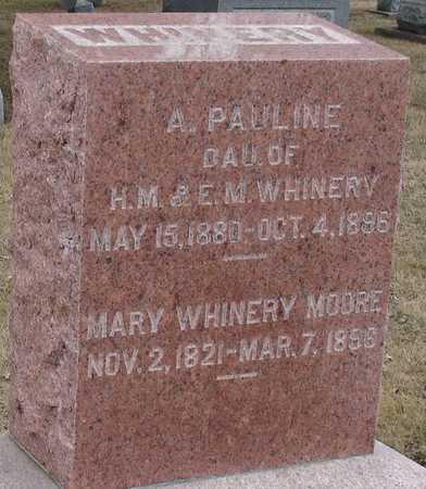 WHINERY MOORE, MARY - Ida County, Iowa | MARY WHINERY MOORE