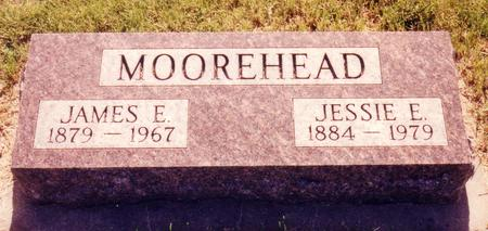 MOOREHEAD, JESSIE EDITH - Ida County, Iowa | JESSIE EDITH MOOREHEAD