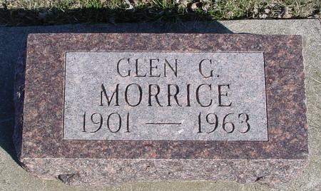 MORRICE, GLEN G. - Ida County, Iowa | GLEN G. MORRICE