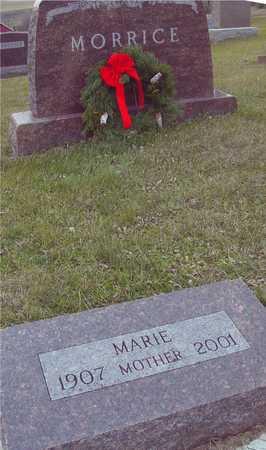 MORRICE, MARIE - Ida County, Iowa | MARIE MORRICE