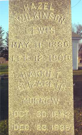 MORROW, HARRIETT ELIZABETH - Ida County, Iowa | HARRIETT ELIZABETH MORROW