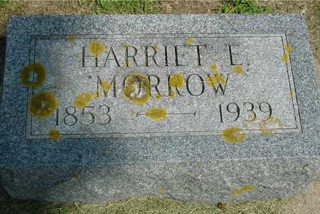 MORROW, HARRIET E. - Ida County, Iowa | HARRIET E. MORROW