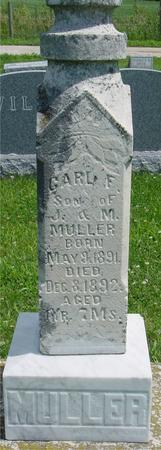 MULLER, CARL F. - Ida County, Iowa | CARL F. MULLER