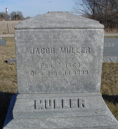 MULLER, JACOB - Ida County, Iowa | JACOB MULLER