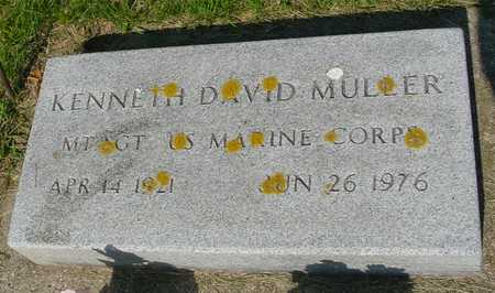 MULLER, KENNETH DAVID - Ida County, Iowa | KENNETH DAVID MULLER