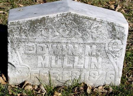 MULLIN, EDWIN M. - Ida County, Iowa | EDWIN M. MULLIN