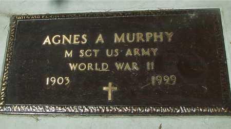 MURPHY, AGNES A. - Ida County, Iowa | AGNES A. MURPHY