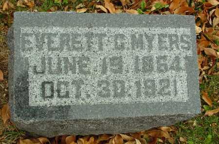 MYERS, EVERETT G. - Ida County, Iowa   EVERETT G. MYERS
