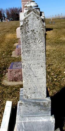 MYERS, JOHNIE - Ida County, Iowa | JOHNIE MYERS