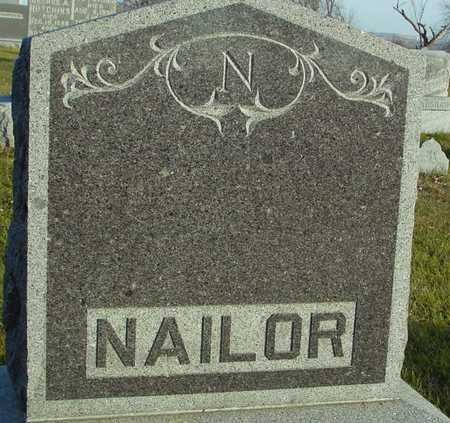NAILOR, FAMILY MARKER - Ida County, Iowa | FAMILY MARKER NAILOR