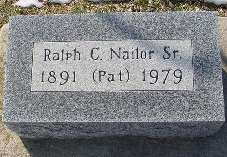NAILOR, RALPH C.  SR. - Ida County, Iowa | RALPH C.  SR. NAILOR