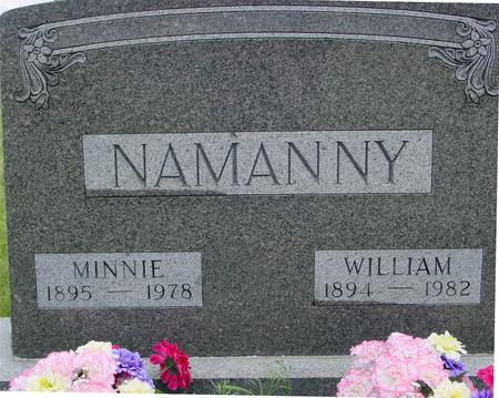 NAMANNY, WILLIAM - Ida County, Iowa | WILLIAM NAMANNY