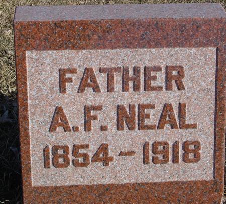 NEAL, A. F. - Ida County, Iowa | A. F. NEAL