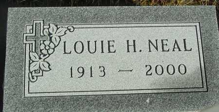 NEAL, LOUIE H. - Ida County, Iowa | LOUIE H. NEAL