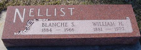 NELLIST, WILLIAM & BLANCHE - Ida County, Iowa | WILLIAM & BLANCHE NELLIST
