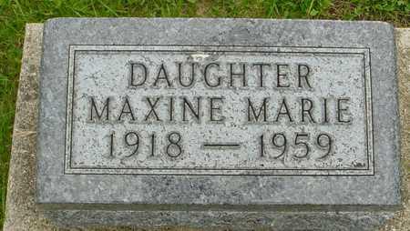 NELSON, MAXINE MARIE - Ida County, Iowa | MAXINE MARIE NELSON