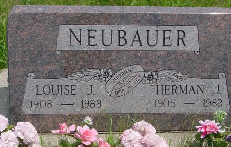 NEUBAUER, HERMAN - Ida County, Iowa | HERMAN NEUBAUER