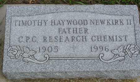 NEWKIRK, TIMOTHY HAYWOOD - Ida County, Iowa | TIMOTHY HAYWOOD NEWKIRK
