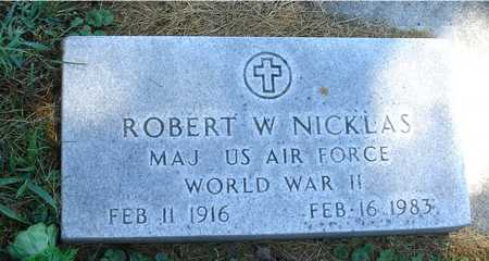 NICKLAS, ROBERT W. - Ida County, Iowa | ROBERT W. NICKLAS