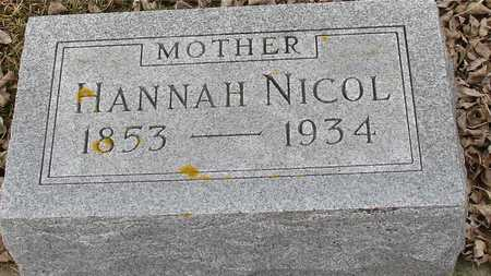 NICOL, HANNAH - Ida County, Iowa | HANNAH NICOL