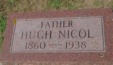 NICOL, HUGH - Ida County, Iowa | HUGH NICOL