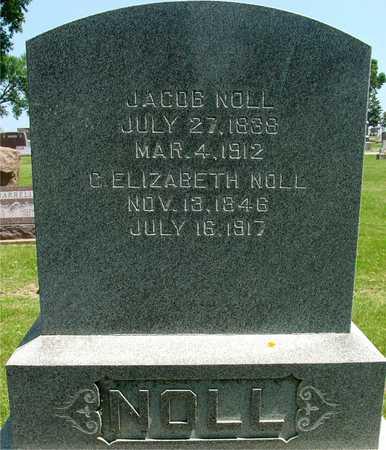 NOLL, JACOB  & C. ELIZABETH - Ida County, Iowa | JACOB  & C. ELIZABETH NOLL