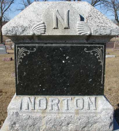 NORTON, FAMILY MARKER - Ida County, Iowa | FAMILY MARKER NORTON