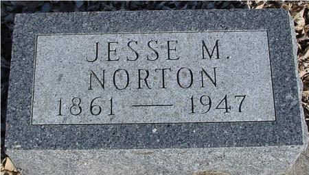 NORTON, JESSE M. - Ida County, Iowa | JESSE M. NORTON