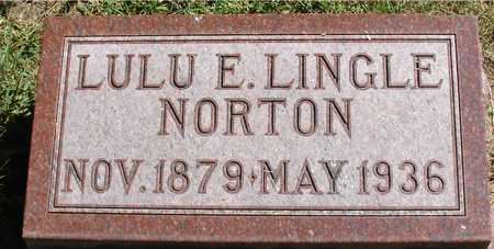 NORTON, LULU E. - Ida County, Iowa | LULU E. NORTON