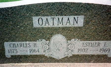 OATMAN, ESTHER L. - Ida County, Iowa | ESTHER L. OATMAN