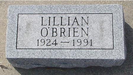 O'BRIEN, LILLIAN - Ida County, Iowa | LILLIAN O'BRIEN