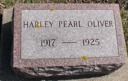 OLIVER, HARLEY PEARL - Ida County, Iowa | HARLEY PEARL OLIVER