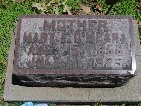 O'MEARA, MARY F. - Ida County, Iowa   MARY F. O'MEARA