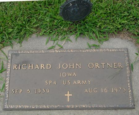 ORTNER, RICHARD JOHN - Ida County, Iowa | RICHARD JOHN ORTNER