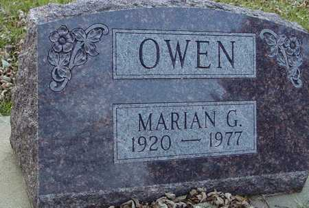 OWEN, MARIAN G. - Ida County, Iowa | MARIAN G. OWEN