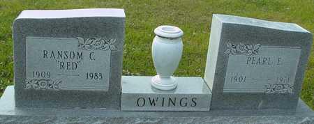 OWINGS, RANSOM & PEARL - Ida County, Iowa   RANSOM & PEARL OWINGS