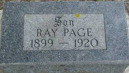 PAGE, RAY - Ida County, Iowa | RAY PAGE