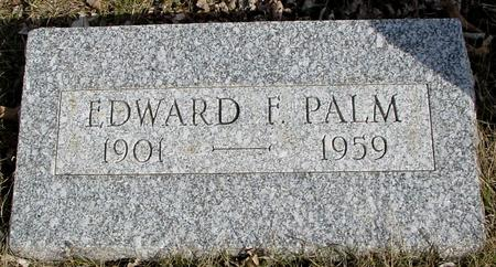 PALM, EDWARD F. - Ida County, Iowa | EDWARD F. PALM