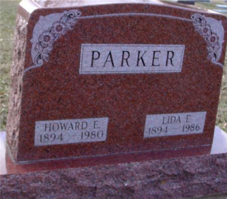 PARKER, HOWARD & LIDA F. - Ida County, Iowa   HOWARD & LIDA F. PARKER