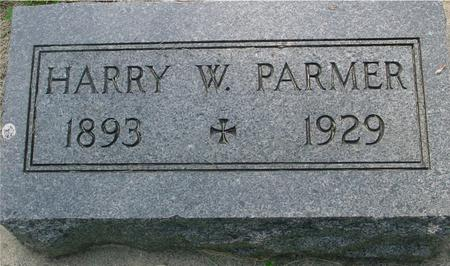 PARMER, HARRY - Ida County, Iowa | HARRY PARMER