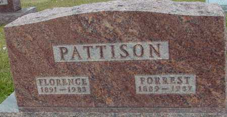 PATTISON, FLORENCE - Ida County, Iowa | FLORENCE PATTISON