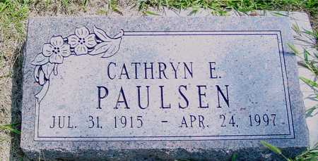 PAULSEN, CATHRYN E. - Ida County, Iowa | CATHRYN E. PAULSEN