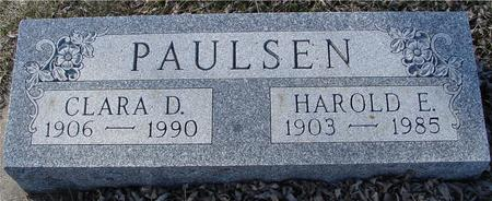 PAULSEN, HAROLD E. & CLARA D. - Ida County, Iowa | HAROLD E. & CLARA D. PAULSEN