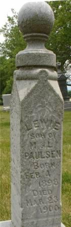 PAULSEN, LEWIE - Ida County, Iowa   LEWIE PAULSEN