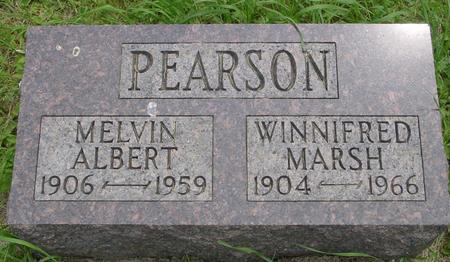 MARSH PEARSON, WINNIFRED - Ida County, Iowa | WINNIFRED MARSH PEARSON