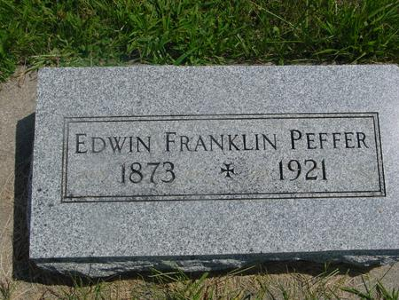 PEFFER, EDWIN - Ida County, Iowa | EDWIN PEFFER