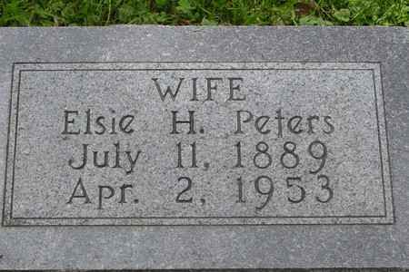 PETERS, ELSIE H. - Ida County, Iowa | ELSIE H. PETERS