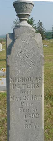 PETERS, NICHOLAS - Ida County, Iowa | NICHOLAS PETERS